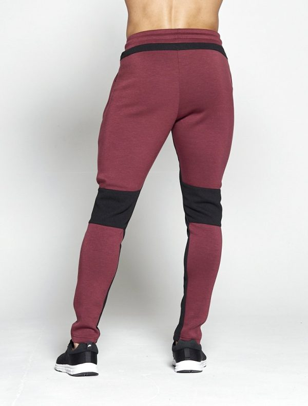 Fitness Broek Heren Rood Hybrid - Pursue Fitness-2