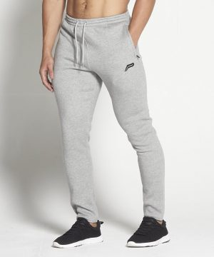 Fitness Broek Heren Tapered Grijs - Pursue Fitness-1