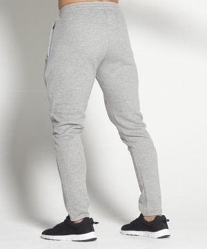 Fitness Broek Heren Tapered Grijs - Pursue Fitness-2