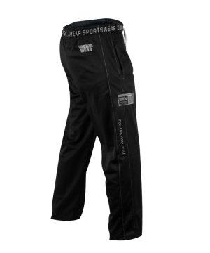 Fitness Broek Heren Zwart - Gorilla Wear Logo Mesh-2