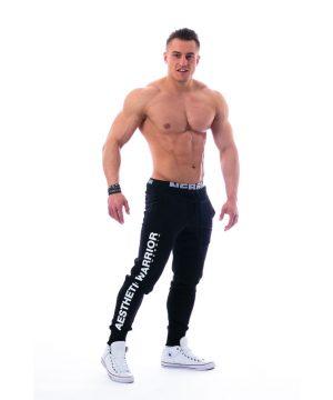 Fitness Broek Heren Zwart - Nebbia 118-1
