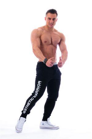 Fitness Broek Heren Zwart - Nebbia 118-2
