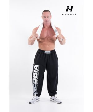 Fitness Broek Heren Zwart - Nebbia Hard Core Sweatpants 310-2