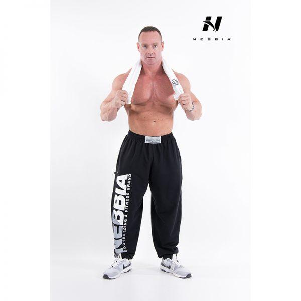 Fitness Broek Heren Zwart - Nebbia Hard Core Sweatpants 310-2