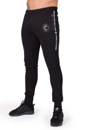 Fitness Broek Heren Zwart Saint Thomas - Gorilla Wear-1