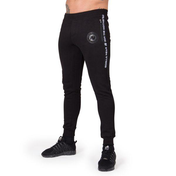 Fitness Broek Heren Zwart Saint Thomas - Gorilla Wear-1