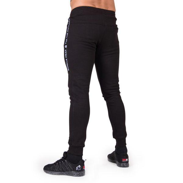 Fitness Broek Heren Zwart Saint Thomas - Gorilla Wear-2