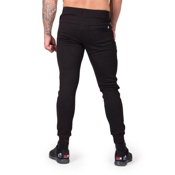 Fitness Broek Heren Zwart Saint Thomas - Gorilla Wear-3