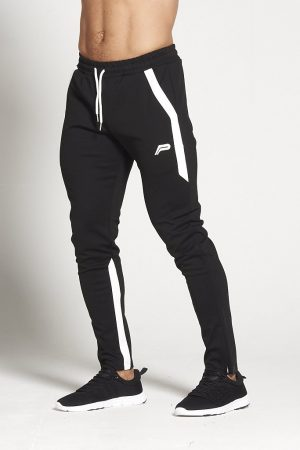 Fitness Broek Heren Zwart Wit - Pursue Fitness-1