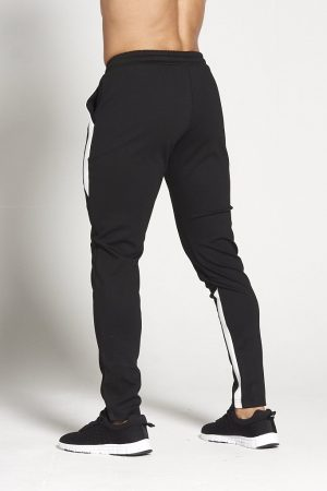 Fitness Broek Heren Zwart Wit - Pursue Fitness-2