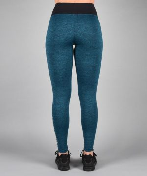 Fitness Legging Dames Blauw - Pursue Fitness Essential Flux Legging-2