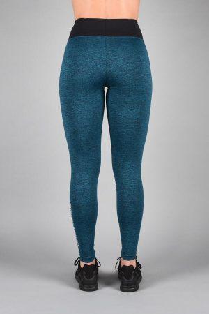 Fitness Legging Dames Blauw - Pursue Fitness Essential Flux Legging-2