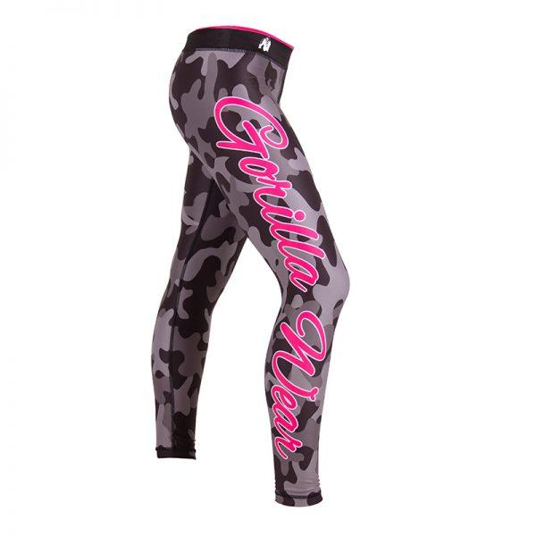 Fitness Legging Dames Camo - Gorilla Wear-1
