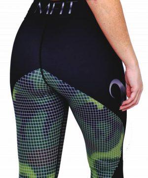 Fitness Legging Dames Camo - Mfit-2
