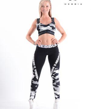 Fitness Legging Dames Camo Wit - Nebbia 202-1