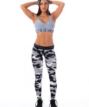 Fitness Legging Dames Camo Wit - Nebbia 203-1