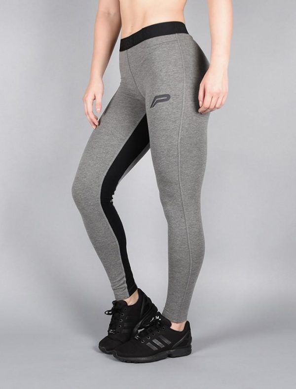 Fitness Legging Dames Donkergrijs - Pursue Fitness Pro Fit Legging-1