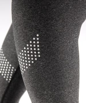 Fitness Legging Dames Dots Grijs - Muscle Brand-3