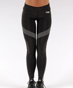 Fitness Legging Dames Dots Zwart - Muscle Brand-1