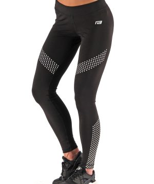 Fitness Legging Dames Dots Zwart - Muscle Brand-3
