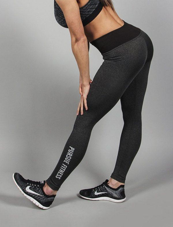 Fitness Legging Dames Essential Grain - Pursue Fitness-4