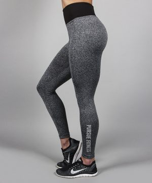 Fitness Legging Dames Essential Heather - Pursue Fitness-3