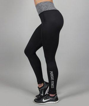 Fitness Legging Dames Essential Zwart - Pursue Fitness-2