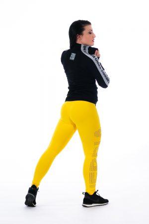 Fitness Legging Dames Geel - Nebbia 211 Laser-2