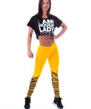 Fitness Legging Dames Geel - Nebbia 215-1