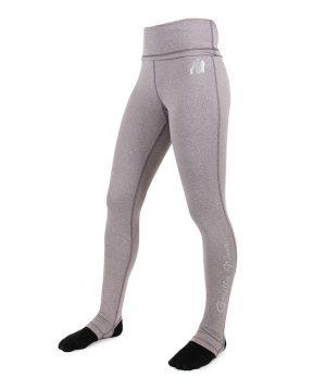 Fitness Legging Dames Grijs Annapolis - Gorilla Wear-1