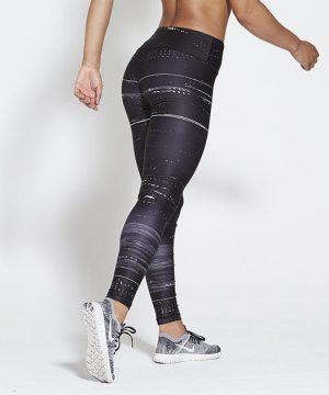 Fitness Legging Dames High Waist Black Ice - Pursue Fitness Allure-2