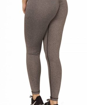 Fitness Legging Dames High Waist Grijs - Mfit-3