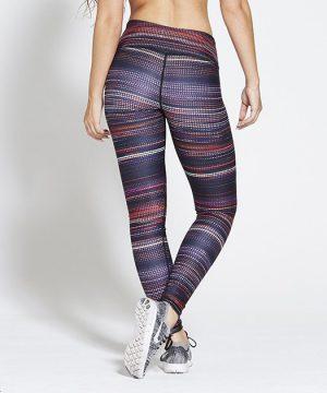 Fitness Legging Dames High Waist Multi - Pursue Fitness Allure-2