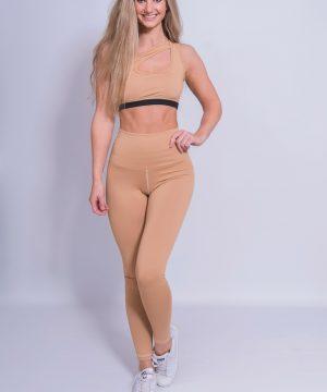 Fitness Legging Dames High Waist Nude - Mfit-2