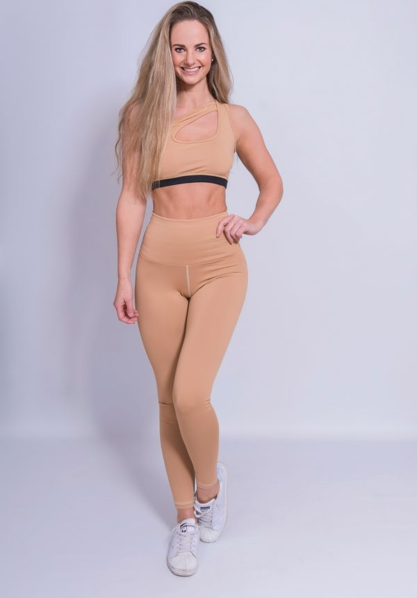 Fitness Legging Dames High Waist Nude - Mfit-2