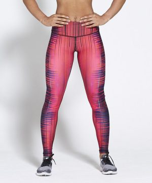 Fitness Legging Dames High Waist Roze - Pursue Fitness Allure-1