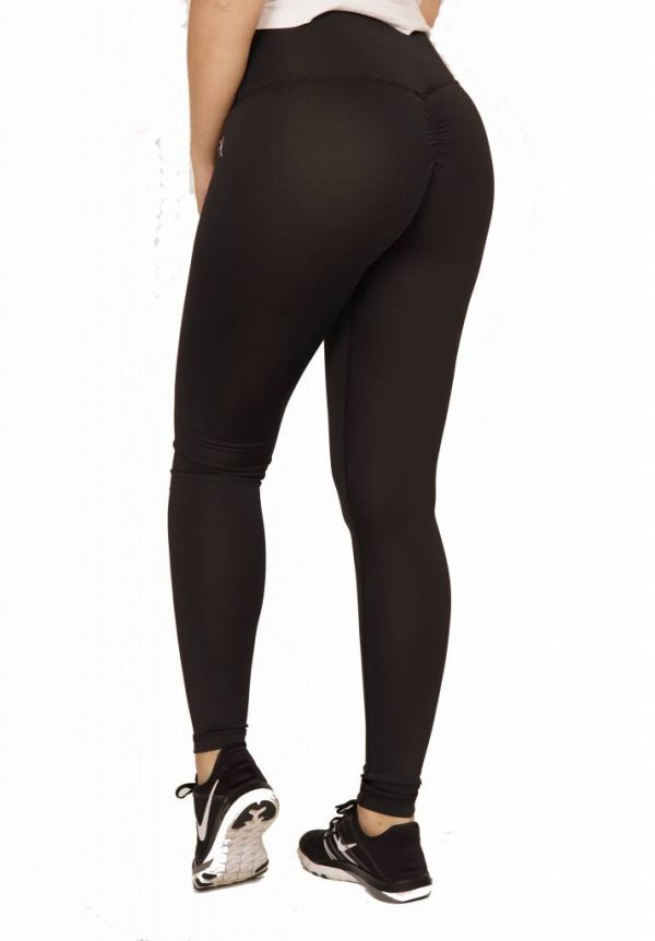 Fitness Legging Dames High Waist Zwart - Mfit-2