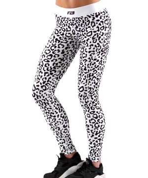 Fitness Legging Dames Leopard - Muscle Brand-1