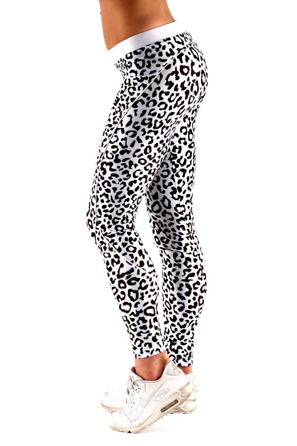 Fitness Legging Dames Leopard - Muscle Brand-3