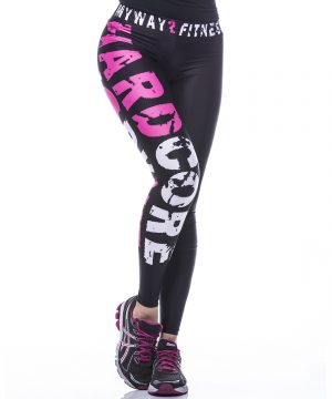 Fitness Legging Dames MyWay2Fitness - Hardcore Workout Roze-1