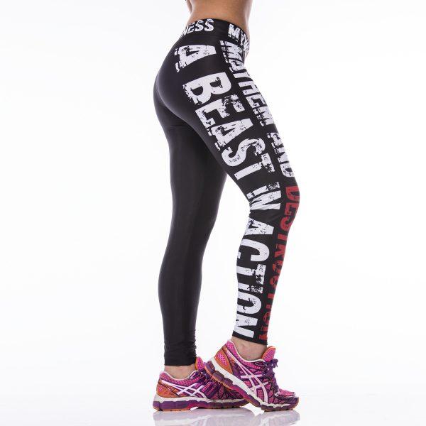 Fitness Legging Dames MyWay2Fitness - Mayhem & Destruction-1