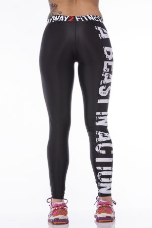 Fitness Legging Dames MyWay2Fitness - Mayhem & Destruction-3