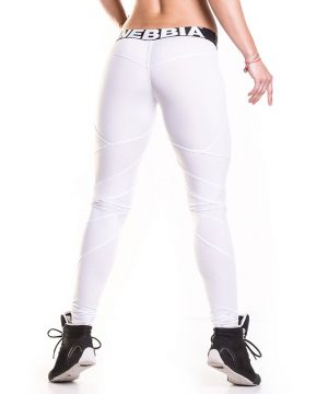 Fitness Legging Dames Network Wit - Nebbia Leggings 284-2