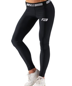 Fitness Legging Dames Perform Zwart - Muscle Brand-1