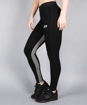 Fitness Legging Dames Pro Fit Zwart Grijs - Pursue Fitness-1