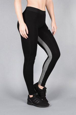 Fitness Legging Dames Pro Fit Zwart Grijs - Pursue Fitness-3