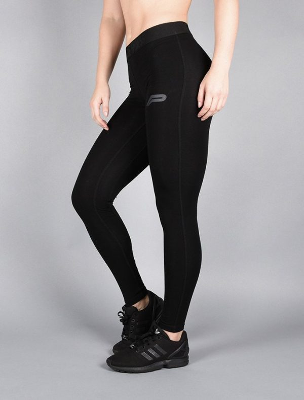 Fitness Legging Dames Pro Fit Zwart - Pursue Fitness-1