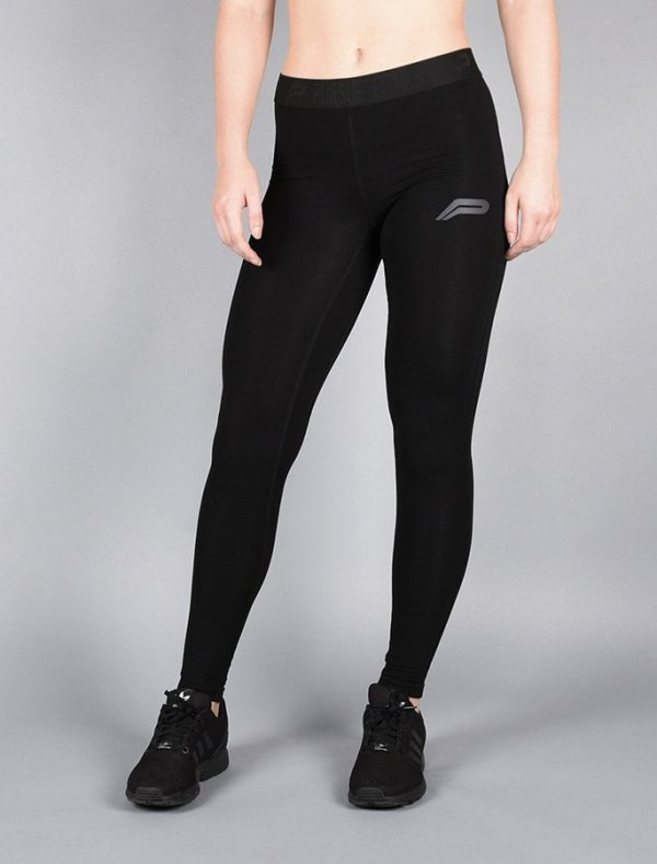 Fitness Legging Dames Pro Fit Zwart - Pursue Fitness-3