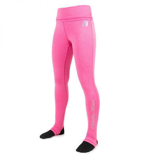 Fitness Legging Dames Roze Annapolis - Gorilla Wear-1