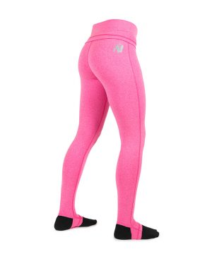 Fitness Legging Dames Roze Annapolis - Gorilla Wear-2